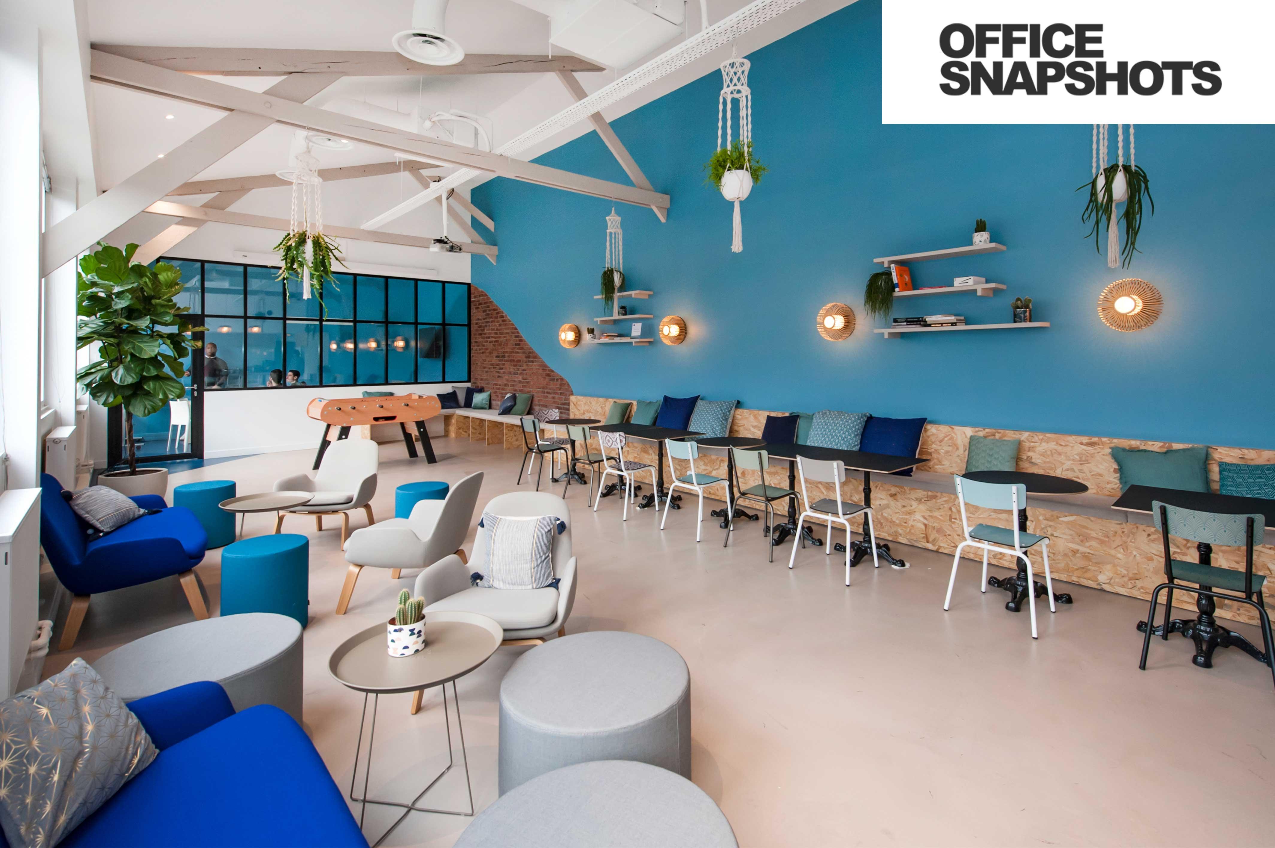Les bureaux FoodChéri à l'honneur dans OfficeSnapshots