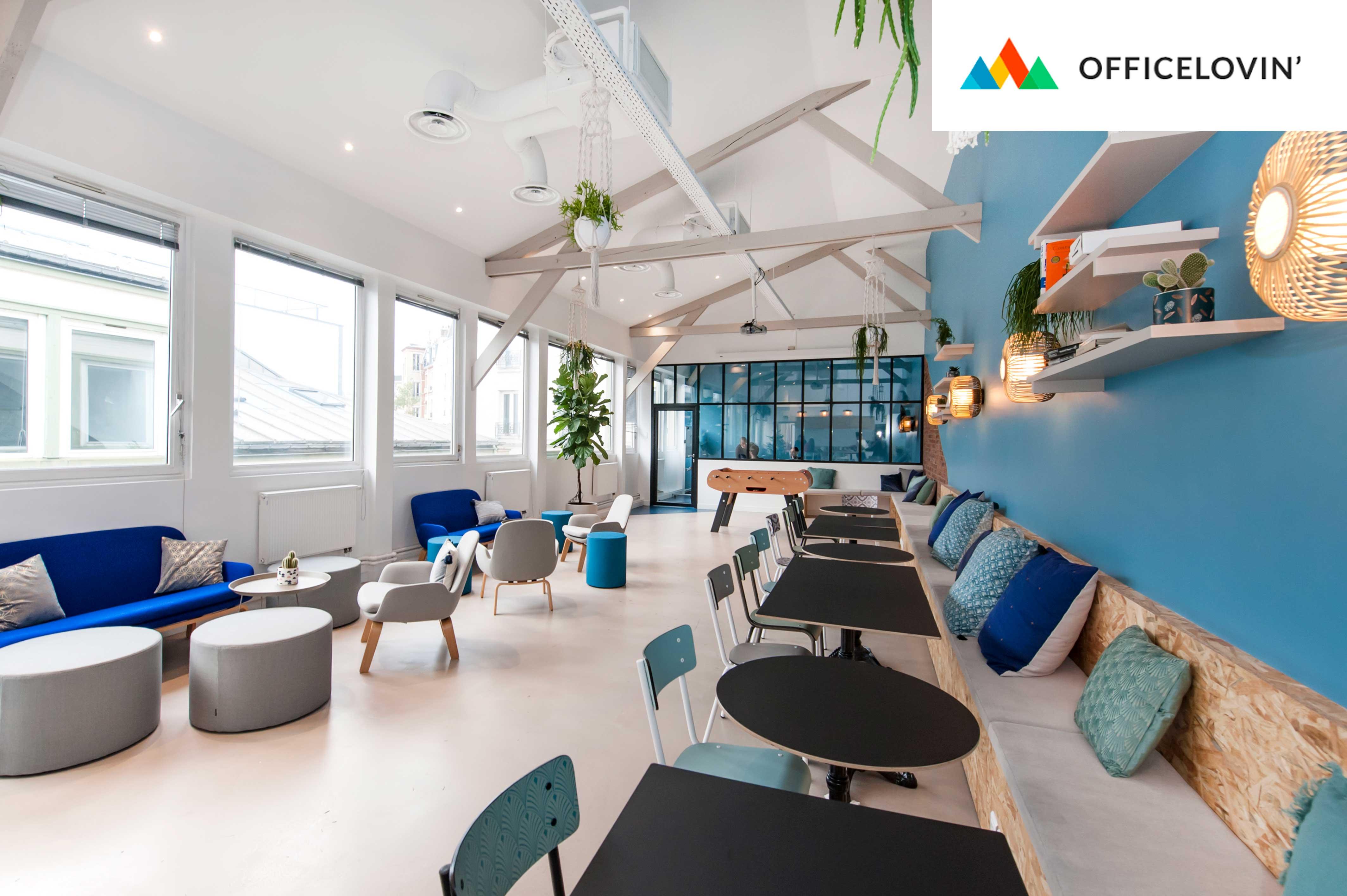 Les nouveaux locaux FoodChéri imaginés par Factory dans Office Lovin